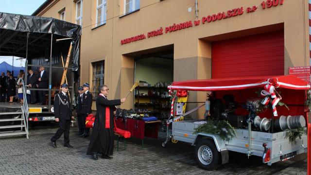 Jubileusz 110-lecia OSP Podolsze połączony z gminnym Dniem Strażaka OG ZOSP RP w Zatorze. ZDJĘCIA !