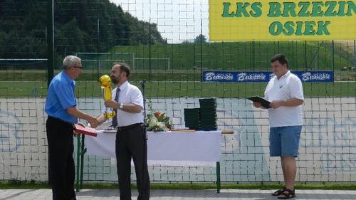 JUBILEUSZ. Klub Brzezina Osiek świętował 65-lecie