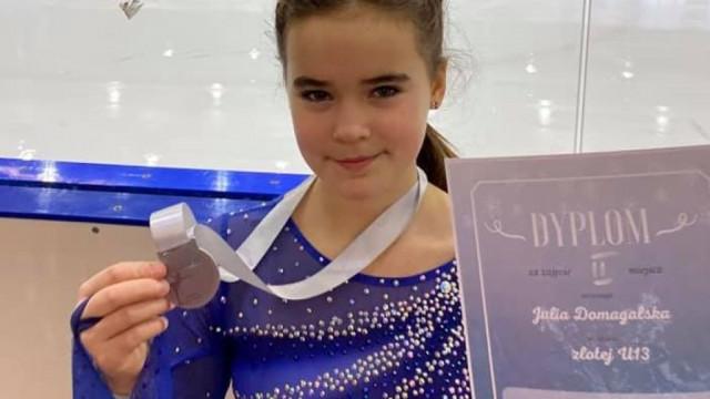 Julia Domagalska druga na zawodach w Bydgoszczy