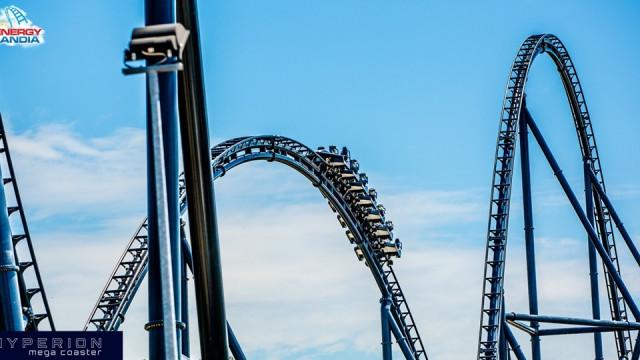 Już dziś otwarcie Roller Coastera HYPERION w Energylandii. ZDJĘCIA, FILM!