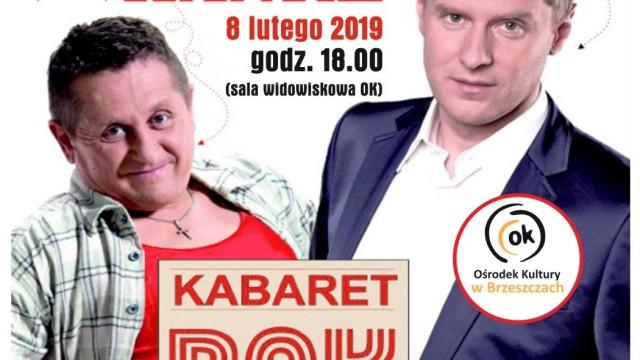 Kabaret RAK na scenie ośrodka w Brzeszczach