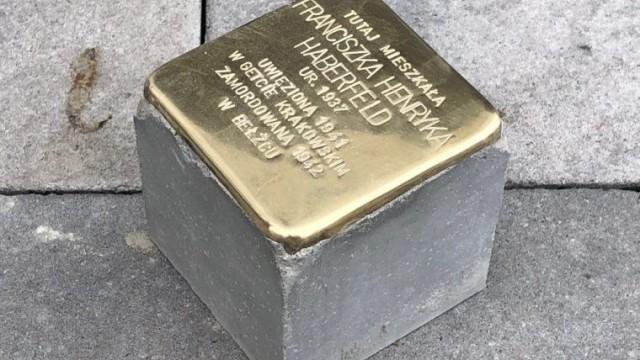 Kamień Pamięci ku czci Franciszki Haberfeld