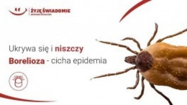 """Kampania społeczna """"Żyję świadomie"""": Konferencja """"Borelioza. Cicha epidemia"""""""