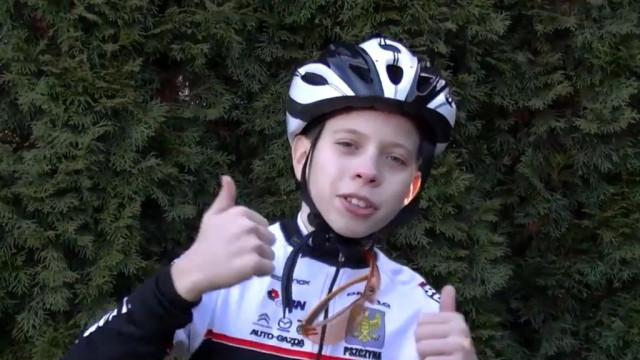 Karol Bies, młody cyklista, wystąpi w Dzień Dobry TVN