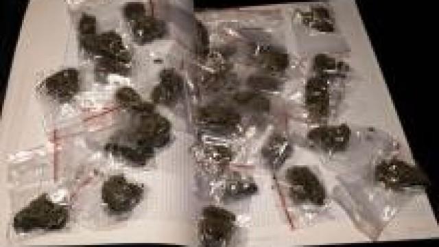 Kęty. Dealerzy narkotykowi wpadli  podczas kontroli drogowej