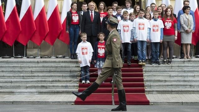 KĘTY. Dzieci z wizytą u premiera