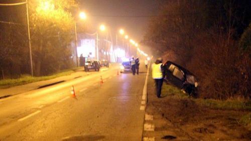 KĘTY. Nie żyje rowerzysta. Drugi uczestnik wypadku był pijany.