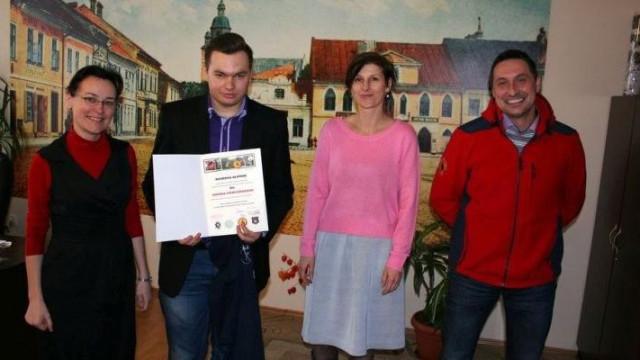 Kęty - wykonał najlepszy projekt strony GPR OSP Kęty