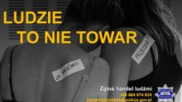 KGP. 14. Europejski Dzień Przeciwko Handlowi Ludźmi i Niewolnictwu 18.10.2020
