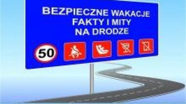 """KGP. """"Fakty i Mity""""  na drodze: FAKT: Nadmierna prędkość to główna przyczyna tragedii na drodze"""