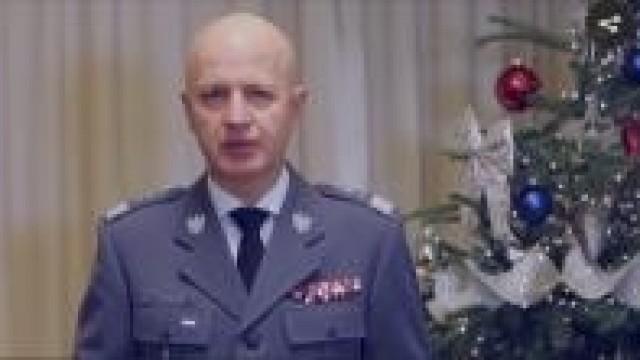 KGP. Życzenia świąteczne Komendanta Głównego Policji