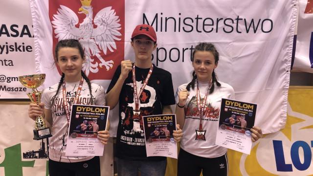 KICK-BOXING. Oświęcimianie na podium mistrzostw Polski