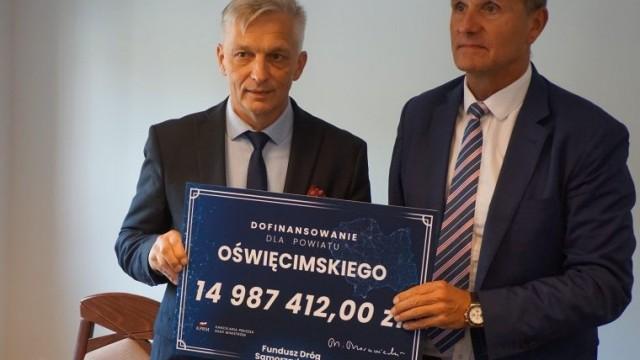 Kilkadziesiąt milionów na modernizację dróg powiatowych i gminnych