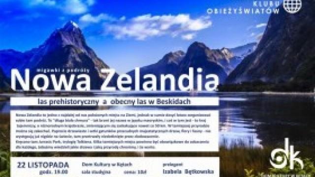Klub Obieżyświatów zaprasza na podróż do Nowej Zelandii