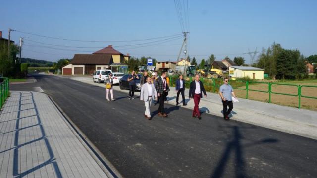 Kluczowa droga powiatowa częściowo zmodernizowana