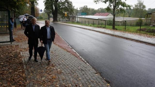 Kluczowe odcinki dróg powiatowych w Malcu gruntownie zmodernizowane