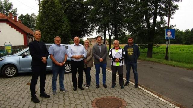 Kolejne inwestycje remont ulicy Bór oraz Budy - InfoBrzeszcze.pl