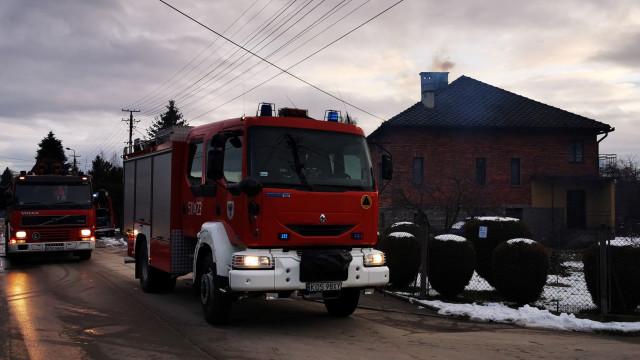 Kolejne pożary sadz w przewodach kominowych w powiecie oświęcimskim – ZDJĘCIA!
