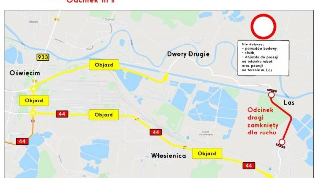 Kolejne utrudnienia w ruchu w związku z modernizacją drogi powiatowej w Gminie Przeciszów