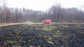 Kolejny pożar trawy w Bulowicach
