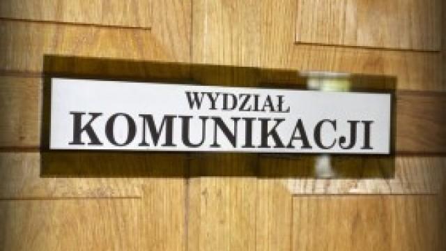 Komunikat: 20 listopada Wydział Komunikacji czynny do 14.30