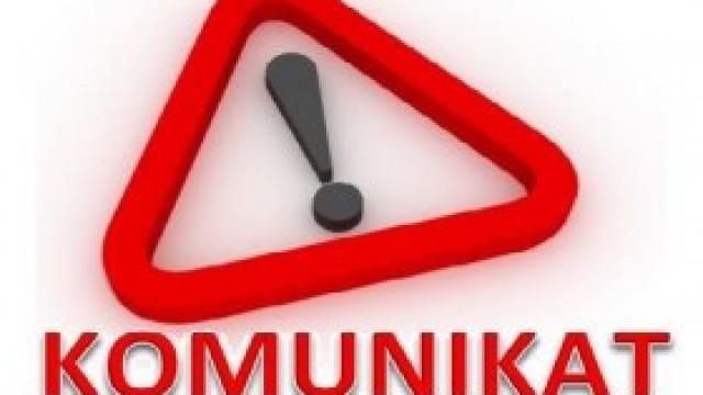 Komunikat w sprawie ograniczenia pracy Zakładu Obsługi Szkół i Przedszkoli Samorządowych w Kętach