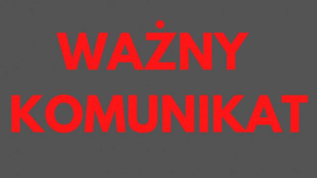 Komunikat w sprawie sytuacji w Domu Pomocy Społecznej w Bobrku