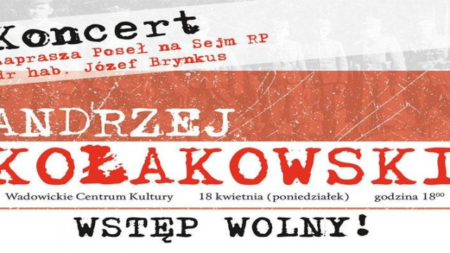 Koncert Andrzeja Kołakowskiego