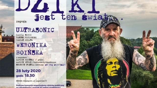 Koncert na rzecz legendy oświęcimskiej sceny muzycznej