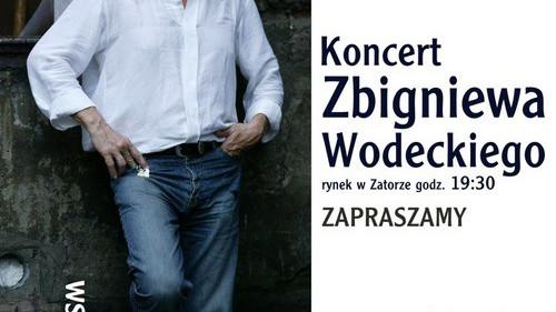 KONCERT. Zbigniew Wodecki na rynku w Zatorze