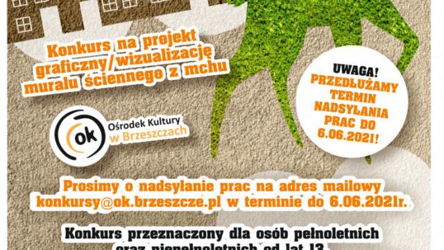 Konkurs na projekt muralu z mchu - InfoBrzeszcze.pl