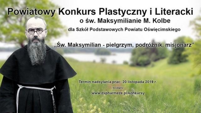 Konkurs Plastyczny i Literacki o św. Maksymilianie