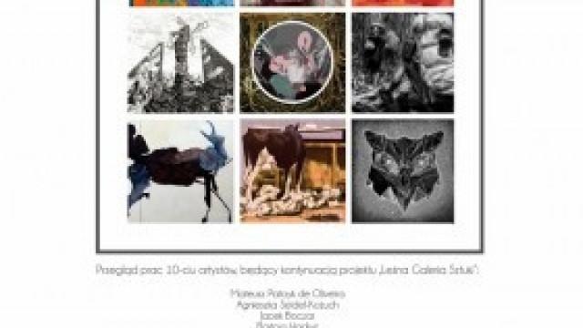"""Kontynuacja projektu """"Leśna Galeria Sztuki"""" – wystawa w Domu Kultury w Kętach"""