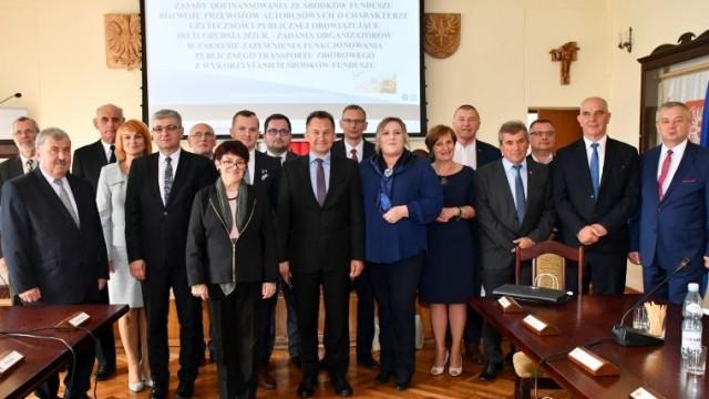 Konwent Rad Powiatów o drogach i wykluczeniu komunikacyjnym