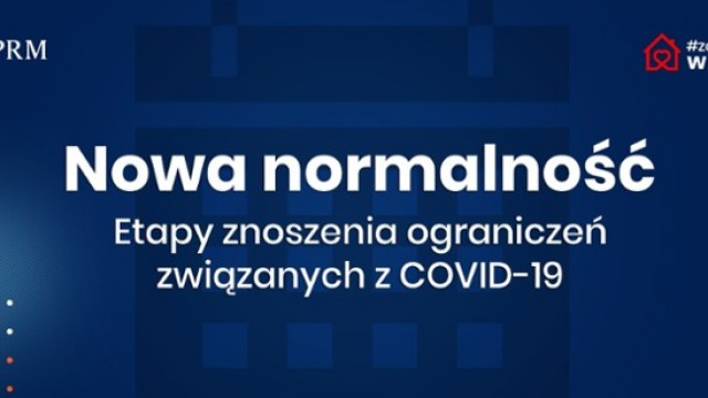 KRAJ. Nowa normalność: etapy znoszenia ograniczeń związanych z COVID-19