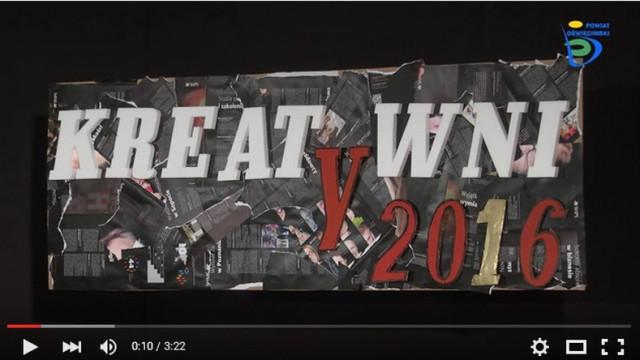 Kreatywni 2016 - wystartowali (WIDEO)