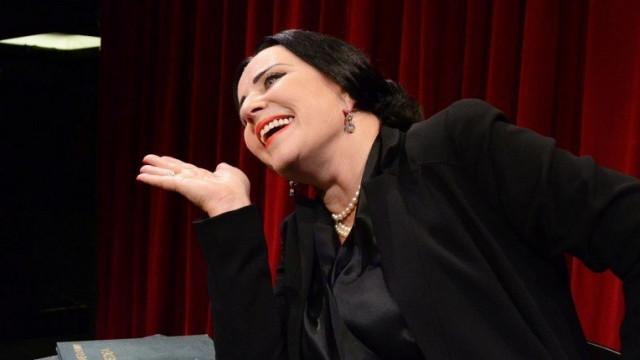 Krystyna Janda jako Maria Callas na LFO 2016