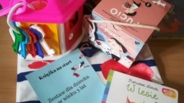 Książki, zabawki i gry - biblioteka serdecznie zaprasza!
