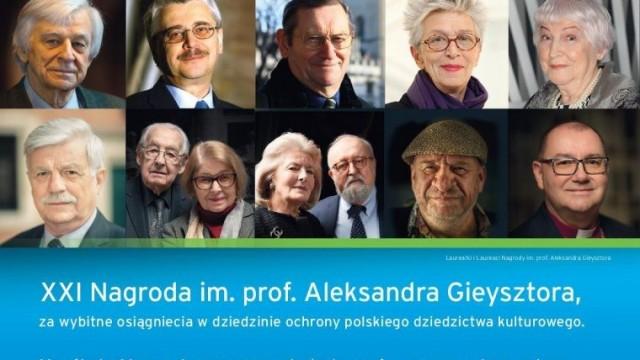 Kto dołączy do grona laureatów nagrody im. prof. Gieysztora?