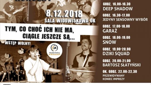 Ku czci nieżyjącym brzeszczańskim muzykom