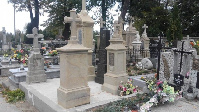 Kwesta na zatorskim cmentarzu