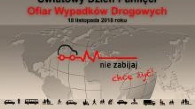 KWP Kraków. O 2831 za dużo… 18 listopada obchodziliśmy Światowy Dzień Pamięci Ofiar Wypadków Drogowych