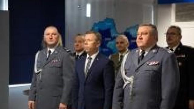 KWP Kraków. Pożegnanie I Zastępcy Komendanta Wojewódzkiego Policji w Krakowie insp. Pawła Dzierżaka.