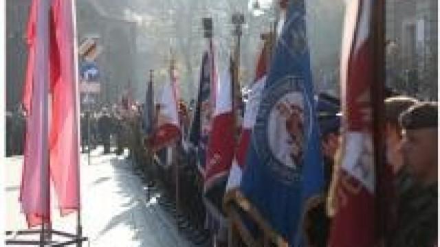 KWP. Uroczyste obchody 100-lecia odzyskania niepodległości przez Polskę