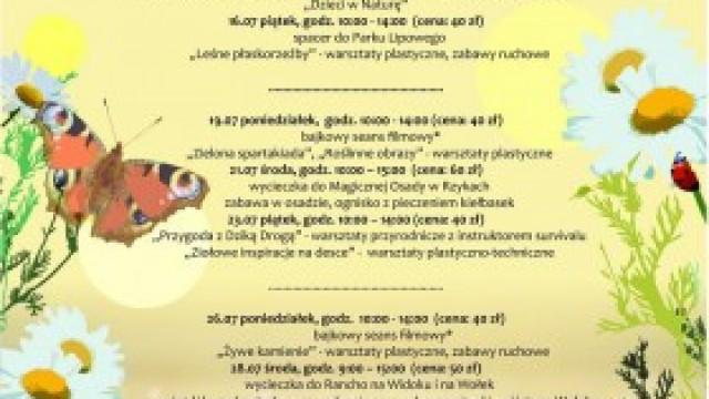 Letnie Warsztaty Przyrodnicze z Domem Kultury w Kętach