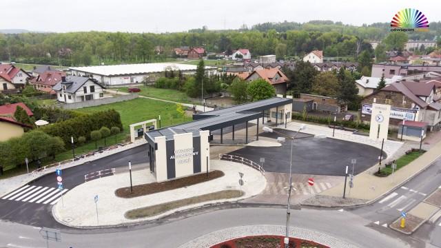 LIBIĄŻ. Otwarto nowy dworzec autobusowy