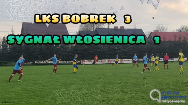LKS Bobrek wygrał z Sygnałem