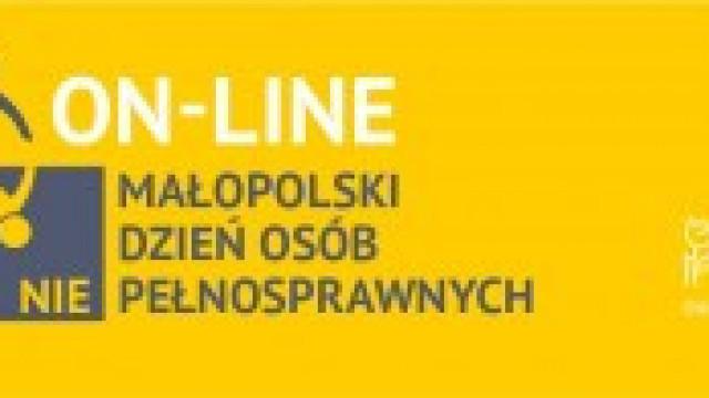 Małopolski Dzień Osób Niepełnosprawnych. W tym roku on-line