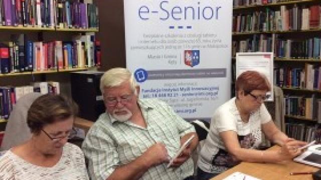 Małopolski e-senior - projekt dla seniorów z Gminy Kęty