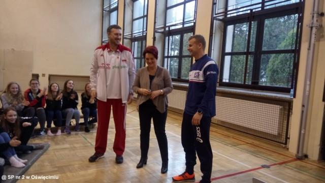 Marcin Prus odwiedził SP nr 2 – FOTO